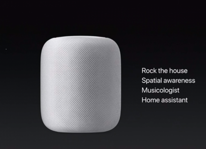 Apple Releases it new device the Apple HomePod